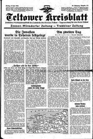 Teltower Kreisblatt vom 09.06.1944