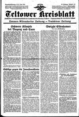 Teltower Kreisblatt vom 10.06.1944