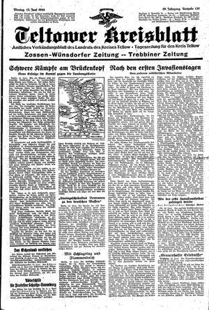 Teltower Kreisblatt vom 12.06.1944
