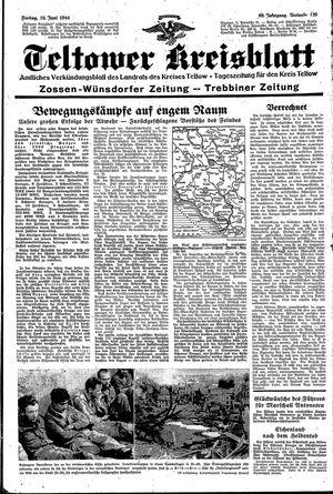 Teltower Kreisblatt on Jun 16, 1944