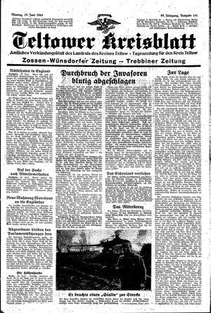 Teltower Kreisblatt vom 19.06.1944