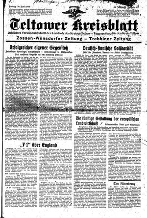 Teltower Kreisblatt vom 30.06.1944