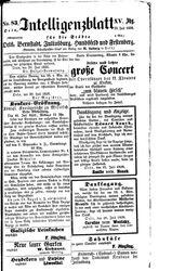Intelligenzblatt für die Städte Oels, Bernstadt, Juliusburg, Hundsfeld und Festenberg (22.07.1858)
