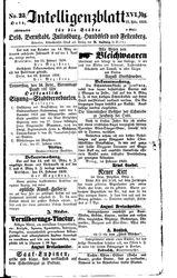 Intelligenzblatt für die Städte Oels, Bernstadt, Juliusburg, Hundsfeld und Festenberg (22.02.1859)