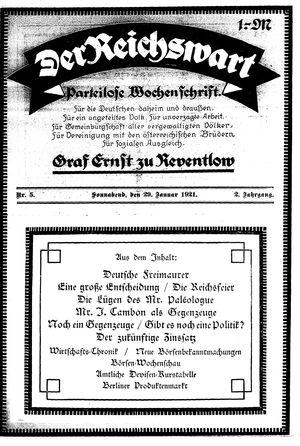 Reichswart on Jan 29, 1921