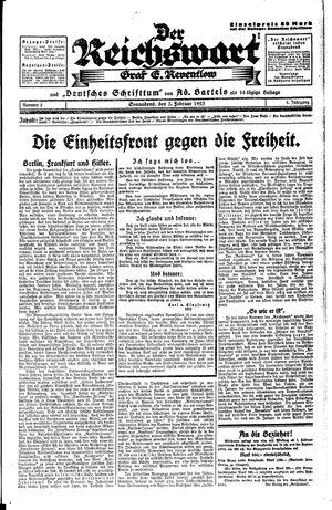 Reichswart on Feb 3, 1923