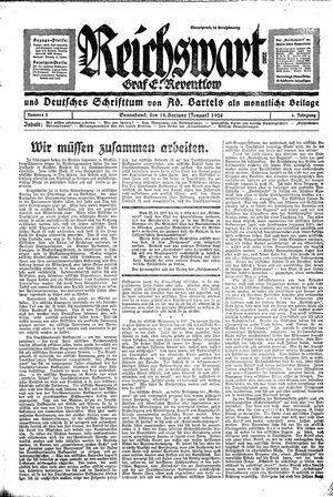 Reichswart vom 19.01.1924