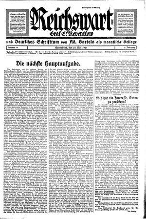 Reichswart vom 10.05.1924