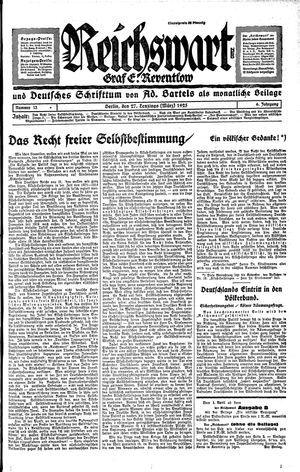 Reichswart on Mar 27, 1925