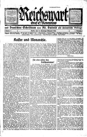 Reichswart on Jan 16, 1926