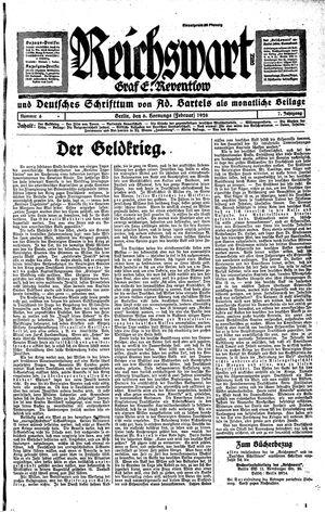 Reichswart on Feb 6, 1926