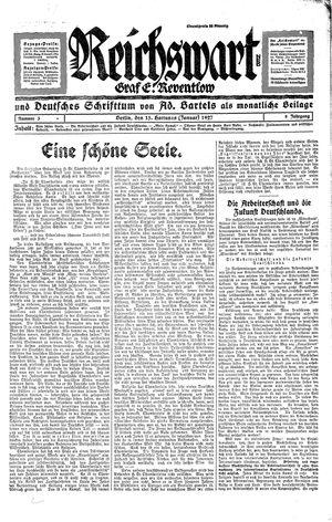 Reichswart vom 15.01.1927