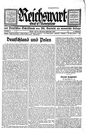 Reichswart vom 26.02.1927