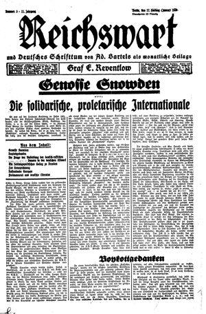 Reichswart on Jan 17, 1930