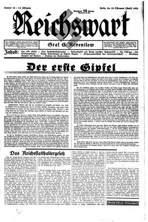 Reichswart on Apr 16, 1933