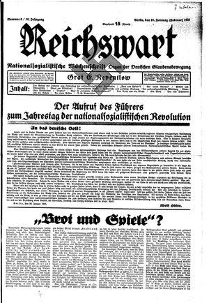 Reichswart vom 10.02.1935