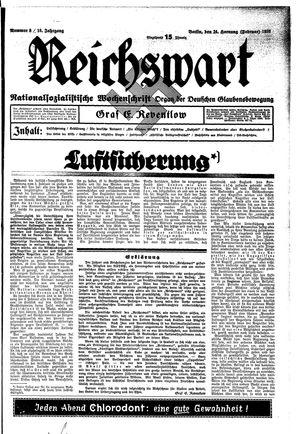 Reichswart vom 24.02.1935