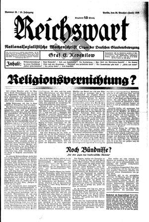 Reichswart vom 30.06.1935