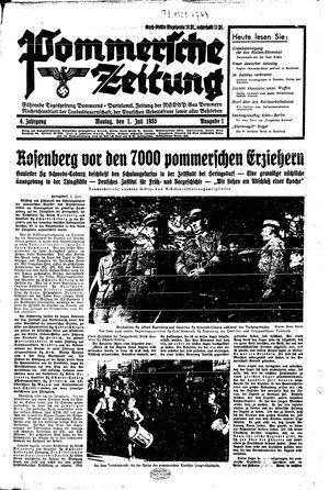Pommersche Zeitung vom 01.07.1935