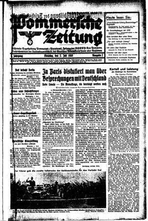Pommersche Zeitung vom 02.07.1935