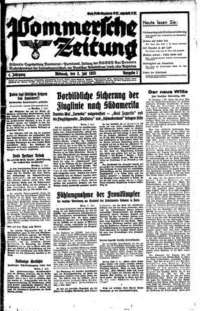Pommersche Zeitung vom 03.07.1935