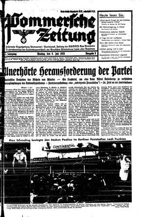 Pommersche Zeitung vom 08.07.1935
