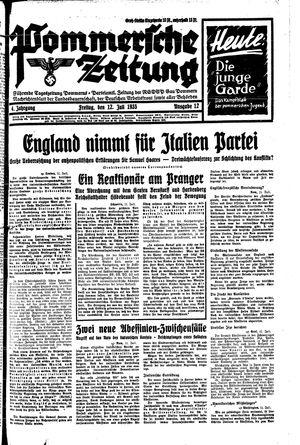 Pommersche Zeitung vom 12.07.1935