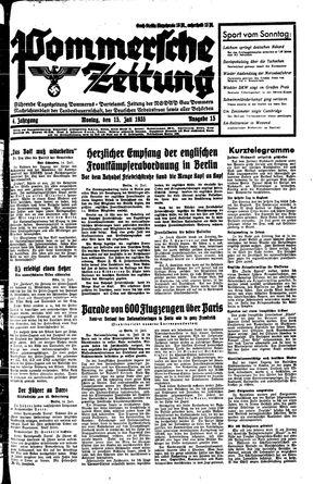 Pommersche Zeitung vom 15.07.1935