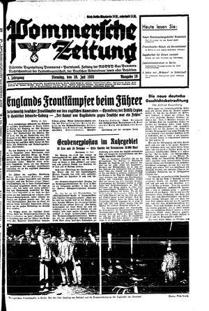 Pommersche Zeitung vom 16.07.1935