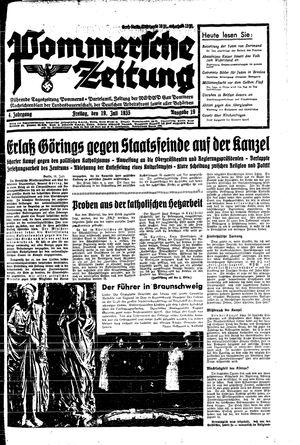 Pommersche Zeitung vom 19.07.1935