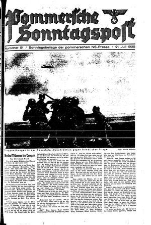 Pommersche Zeitung vom 21.07.1935
