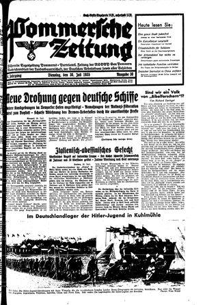 Pommersche Zeitung vom 30.07.1935