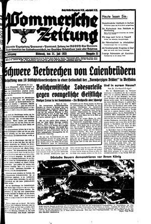 Pommersche Zeitung on Jul 31, 1935