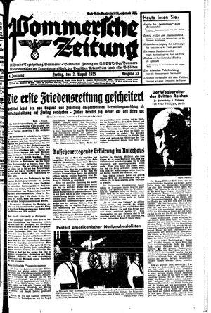 Pommersche Zeitung vom 02.08.1935