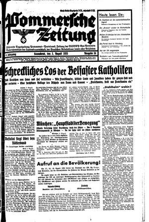 Pommersche Zeitung vom 03.08.1935
