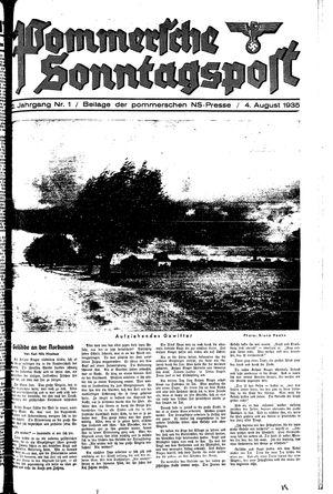 Pommersche Zeitung vom 04.08.1935