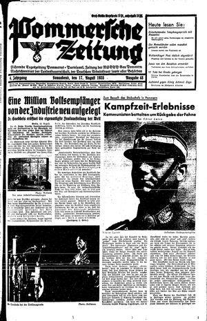 Pommersche Zeitung vom 17.08.1935
