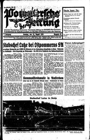 Pommersche Zeitung vom 18.08.1935