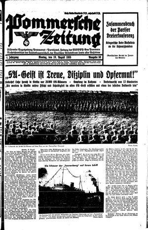 Pommersche Zeitung vom 19.08.1935