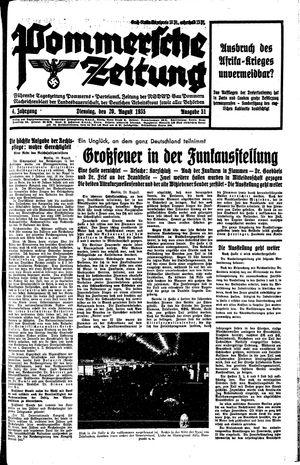 Pommersche Zeitung vom 20.08.1935