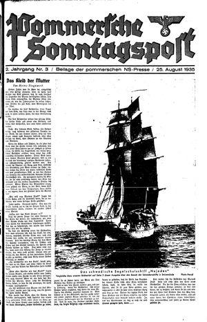 Pommersche Zeitung vom 25.08.1935