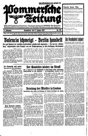 Pommersche Zeitung vom 09.01.1937