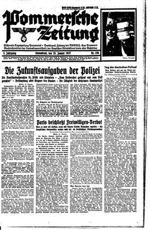 Pommersche Zeitung vom 16.01.1937