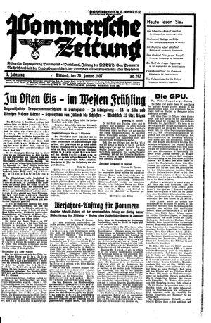 Pommersche Zeitung vom 20.01.1937