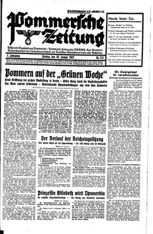 Pommersche Zeitung on Jan 29, 1937