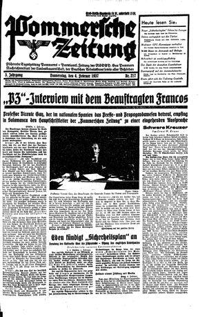 Pommersche Zeitung vom 04.02.1937