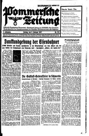 Pommersche Zeitung vom 05.02.1937