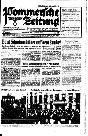 Pommersche Zeitung vom 06.02.1937