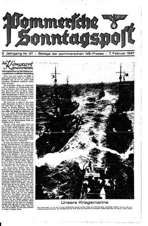 Pommersche Zeitung vom 07.02.1937