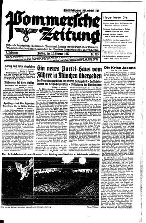 Pommersche Zeitung vom 12.02.1937